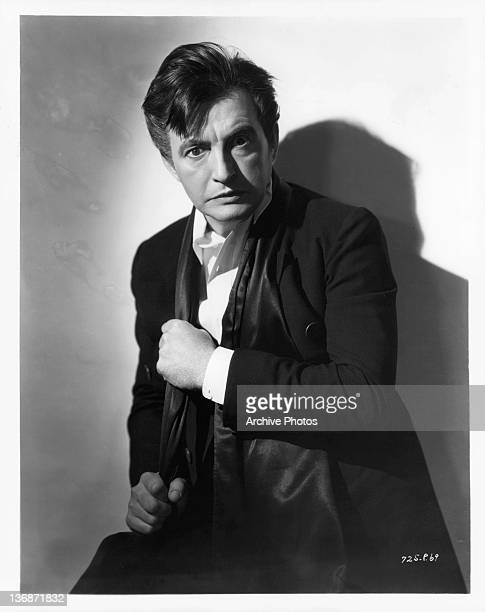 Claude Raines looking shocked in a scene from the film 'Mystery Of Edwin Drood' 1935