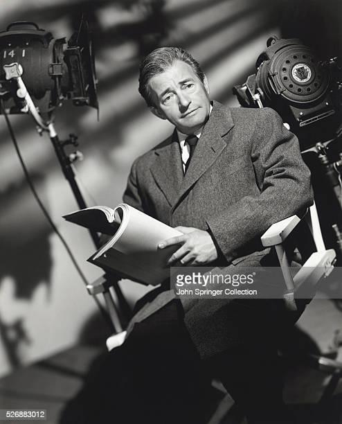 Claude Rains Holding Script