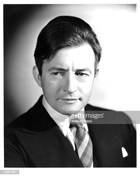 Claude Rains in publicity portrait for the film 'Crime Without Passion' 1934