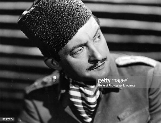 Claude Rains stars as John Stevenson in 'The Last Outpost' a story about a British officer captured by the Kurds The film was directed by Charles...