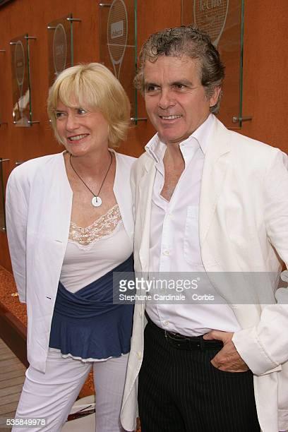 Claude Serillon and Catherine Ceylac at Roland Garros Village