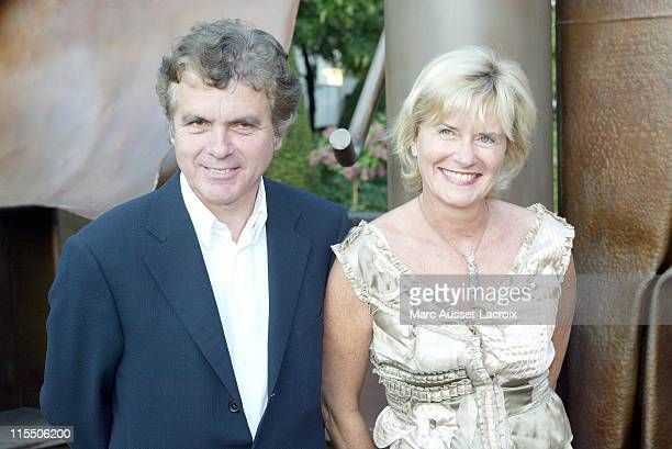 Claude Serillon and Catherine Ceylac during Jaeger LeCoultre Party 70th Anniversary of the Reverso Watch June 29 2006 at Jaeger LeCoultre party in...