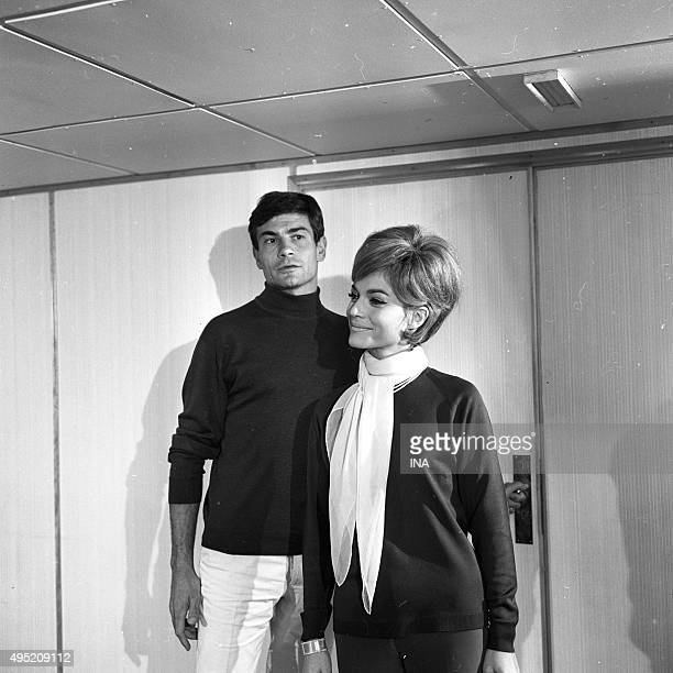 Claude Titre and Margit Saad in The lagoon to the sharks an episode of Bob Morane's adventures