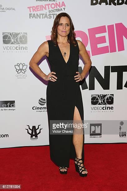 Claudette Maille attends the 'Treintona Soltera Y Fantastica' Mexico City premiere at Cinemex Antara Polanco on October 4 2016 in Mexico City Mexico
