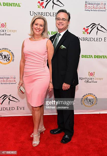 Claudette Walker and James Walker attend the 141st Kentucky Derby Unbridled Eve Gala at Galt House Hotel Suites on May 1 2015 in Louisville Kentucky