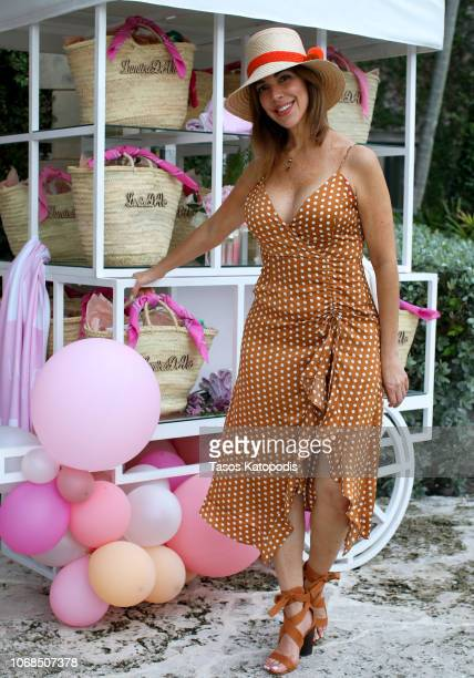 Claudia AhrensHernandez attends the Lumière de Vie Resort event during Art Basel on December 4 2018 in Miami Beach FL