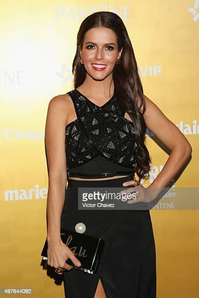 Claudia Alvarez attends the Prix De La Mode Marie Claire at Hotel Hyatt Campos Eliseos on November 17 2015 in Mexico City Mexico