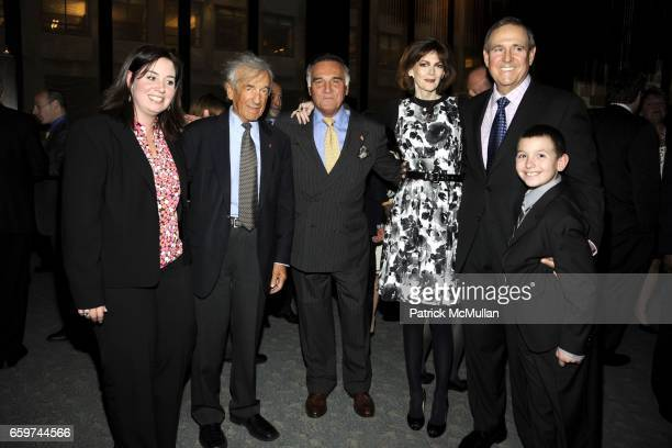 Claudia Anderson Elie Weisel Tony Lo Bianco Norris Church Mailer Walter Anderson and Jonathan Anderson attend PARADE MAGAZINE and SI Newhouse Jr...