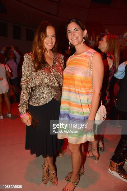 Claudia Avendano and Alexandra Zand attend the Launch Of The Inaugural Faena Festival Private Preview at Faena Forum on December 3 2018 in Miami...