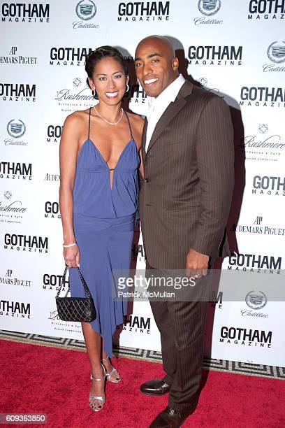 Claudia Barber and Ronde Barber attend GOTHAM MAGAZINE CELEBRATES ITS 7TH ANNUAL GALA AND THE RETIREMENT OF THE NEW YORK GIANTS' TIKI BARBER at...