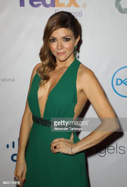 Claudia Betancourt is seen at the 16th Annual FedEx/St Jude Angels Stars Gala on May 19 2018 in Miami Florida