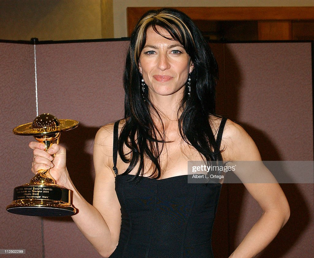 Claudia Black, winner for Best Television Actress for 'Farscape: Peacekeeper Wars'