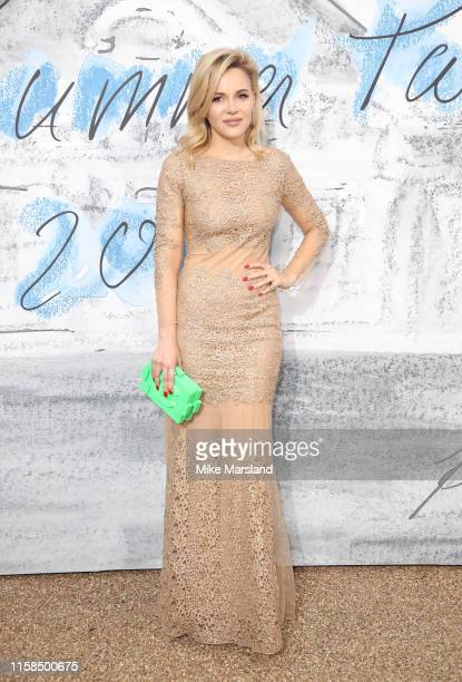Claudia Borg attends The Summer Party 2019 Presented By Serpentine Galleries And Chanel at The Serpentine Gallery on June 25 2019 in London England