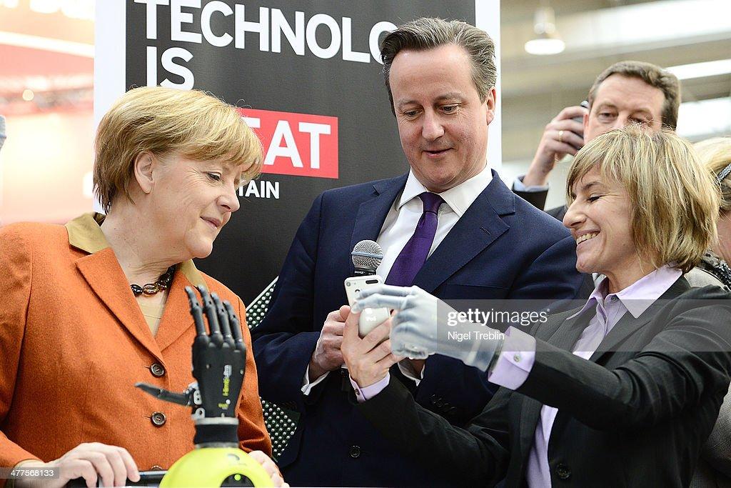 CeBIT 2014 Technology Trade Fair : News Photo