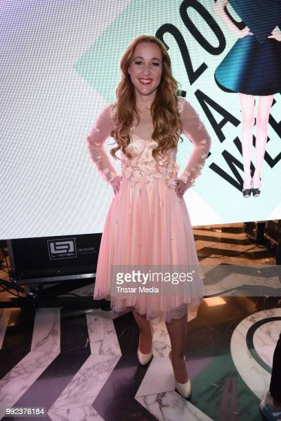 Claudia Campus attends the Fashion2Show show during the Berlin Fashion Week Spring/Summer 2019 at Quartier 206 on July 5 2018 in Berlin Germany