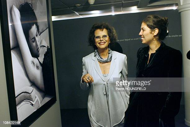 Claudia Cardinale and her daughter Claudia Squitieri in Paris France on May 05 2009
