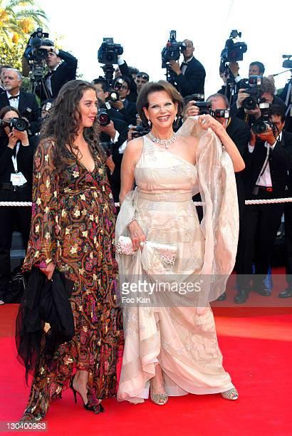 Claudia Cardinale and her Daughter Claudia Squitieri