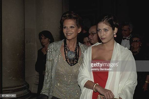 Claudia Cardinale and her daughter Claudia Squitieri.