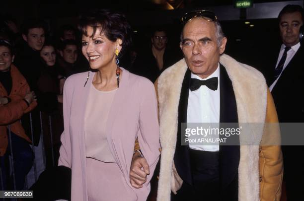 Claudia Cardinale and Pasquale Squitieri.