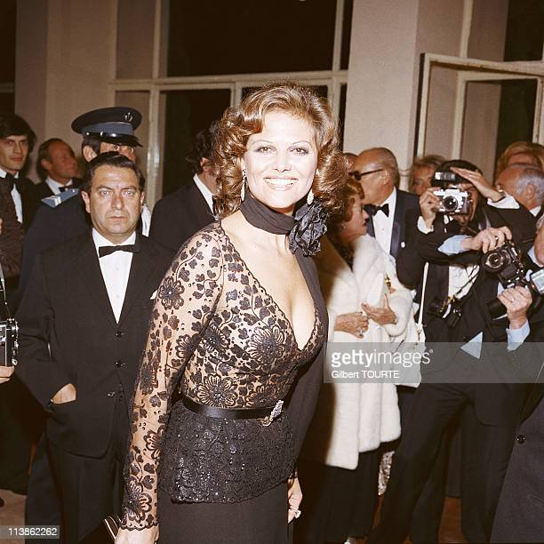 Claudia Cardinale at Cannes Film Festival in 1974 in Cannes France