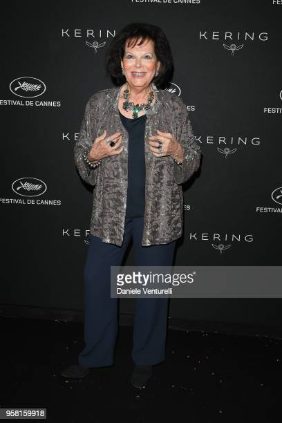 Claudia Cardinale attends the Women in Motion Awards Dinner presented by Kering and the 71th Cannes Film Festival at Place de la Castre on May 13...