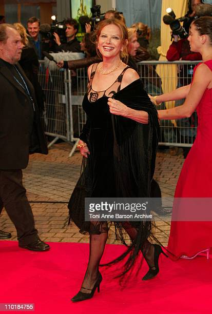 Claudia Cardinale during 2003 Deauville Film Festival 'Tribute to Jessica Lange HBO Films ' Normal Premiere' at CID in Deauville NY France