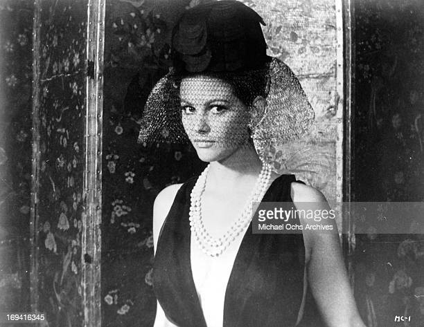 Claudia Cardinale in a scene from the film 'The Magnificent Cuckold' 1964