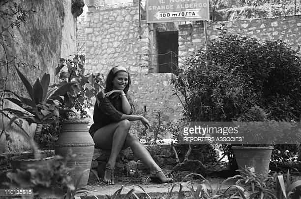 Claudia Cardinale in August1961