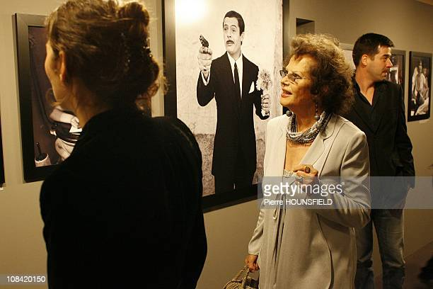 Claudia Cardinale in Paris, France on May 05, 2009.