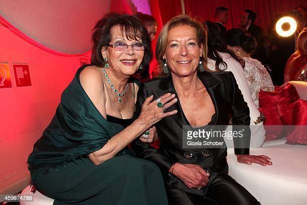Claudia Cardinale Marie Waldburg during the Mon Cheri Barbara Tag 2014 at Haus der Kunst on December 4 2014 in Munich Germany