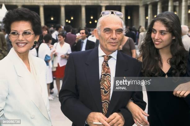 Claudia Cardinale, Pasquale Squitieri et their daughter Claudia.