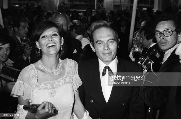 Claudia Cardinale with her husband Pasquale Squitieri.