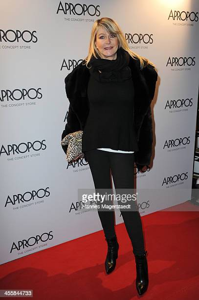 Claudia Carpendale attends Apropos Concept Store Opening on December 12 2013 in Munich Germany