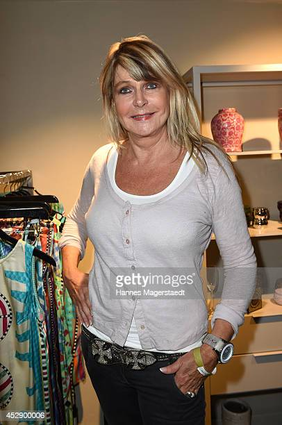 Claudia Carpendale attends the Marcus Heinzelmann Boutique Opening on July 29 2014 in Munich Germany