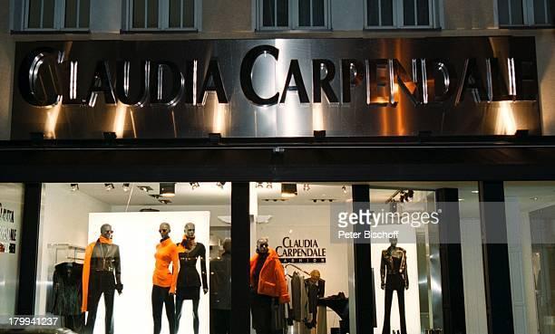 Claudia Carpendale FashionModeKollektion Premiere KölnSchaufenster Boutique Mode