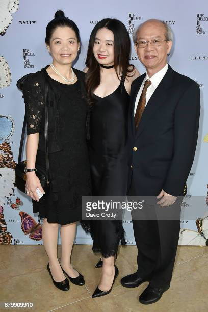 Claudia Cheng Mei Huei Su and Ming Chih Cheng attend the 35th Annual Otis College Scholarship Benefit and Fashion Show at The Beverly Hilton Hotel on...