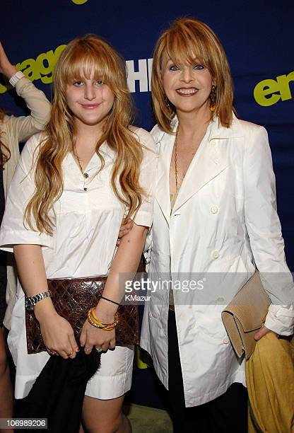 Claudia Cohen and daughter Samantha Perelman during Entourage Season Three New York Premiere Red Carpet at Skirball Center for the Performing Arts at...