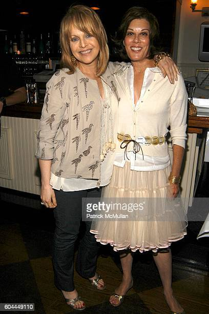 Claudia Cohen and Peggy Siegal attend Private screening of Marie Antoinette followed by dinner at Savannah's at Southampton on August 28 2006
