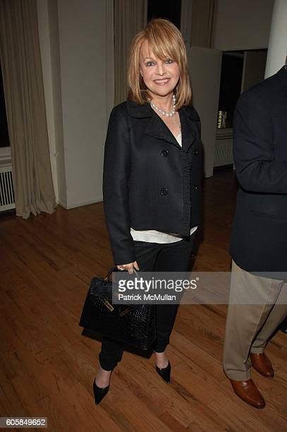 Claudia Cohen attends Alzheimer's Assoc Rita Hayworth Gala Cocktail reception hosted by Naeem and Ranjana Khan with Princess Yasmin Aga Khan and...