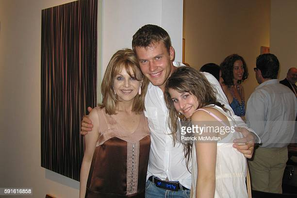 Claudia Cohen Martin Saar and Samantha Perelman attend Opening Reception for A Summer Group at Charles Cowles Gallery on June 30 2005 in New York City