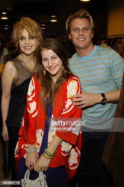 Claudia Cohen Samantha Perelman and Adam Lippes attend Gran Centenario hosts the J Ransom instore event for adam eve at J Ransom Boutique on March 18...