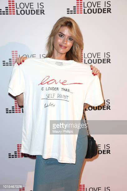 Claudia Cooper attends Chaz Dean Summer Party 2018 Benefiting Love is Louder on August 11 2018 in Los Angeles California