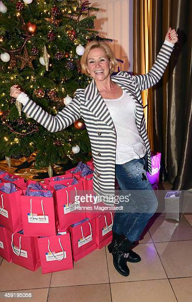 Claudia Effenberg attends the 'Ernsting's Family Fashion Dinner' at Rilano No 6 on November 18 2014 in Munich Germany