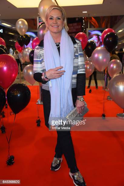 Claudia Effenberg attends the late night shopping party on February 25, 2017 in Hamburg, Germany.