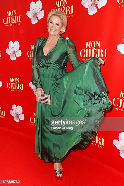 Claudia Effenberg attends the Mon Cheri Barbara Tag at Postpalast on December 2 2016 in Munich Germany