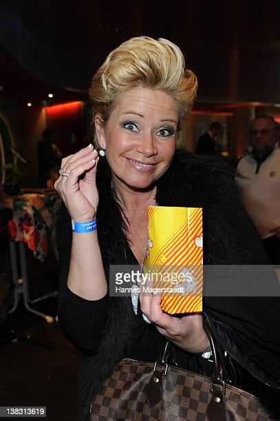 Claudia Effenberg attends the Yoko Premiere at the Mathaeser Filmpalast on February 5 2012 in Munich Germany