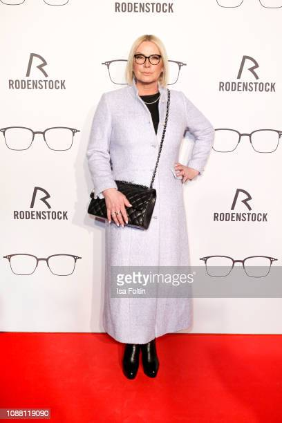 Claudia Effenberg during the Rodenstock Eyewear Show 'A New Vision of Style' at Isarforum on January 24, 2019 in Munich, Germany.