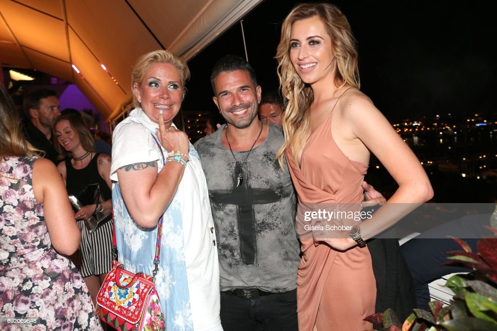 claudia effenberg marc terenzi and verena kerth during the zhero news photo getty images. Black Bedroom Furniture Sets. Home Design Ideas