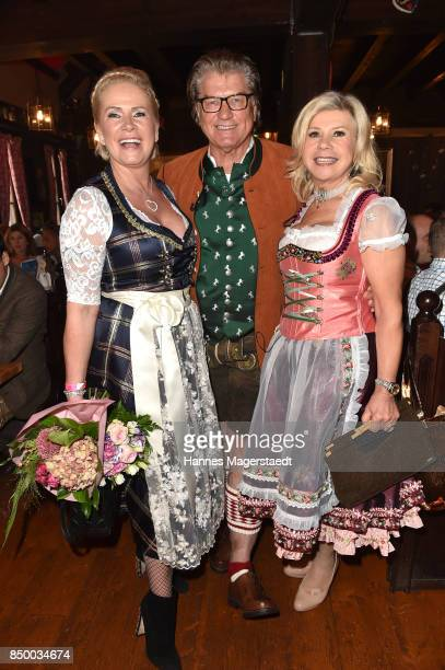 Claudia Effenberg Michael Hartl and Marianne Hartl the Charity Lunch at 'Zur Bratwurst' during the Oktoberfest 2017 on September 20 2017 in Munich...