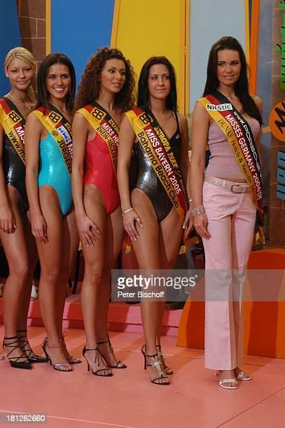 Claudia Ehlert Teilnehmerinnen der Miss GermanyWahl 2005 Las Palmas de Gran Canaria/Kanarische Inseln/Spanien